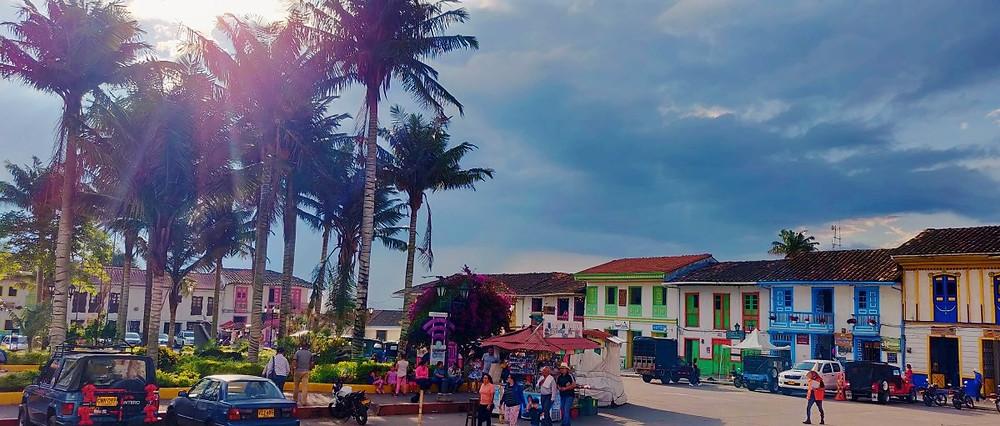 Place principale Salento en Colombie