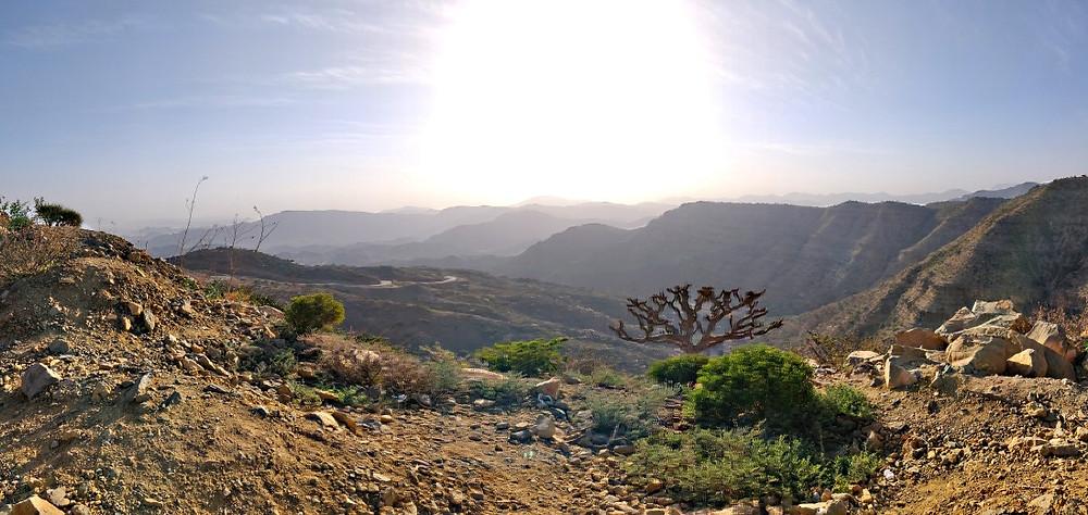 Mekele montagnes ethiopie
