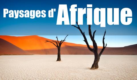 Paysages d'Afrique