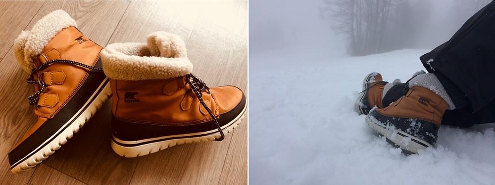 Chaussures de neige Sac pour sports d'hiver