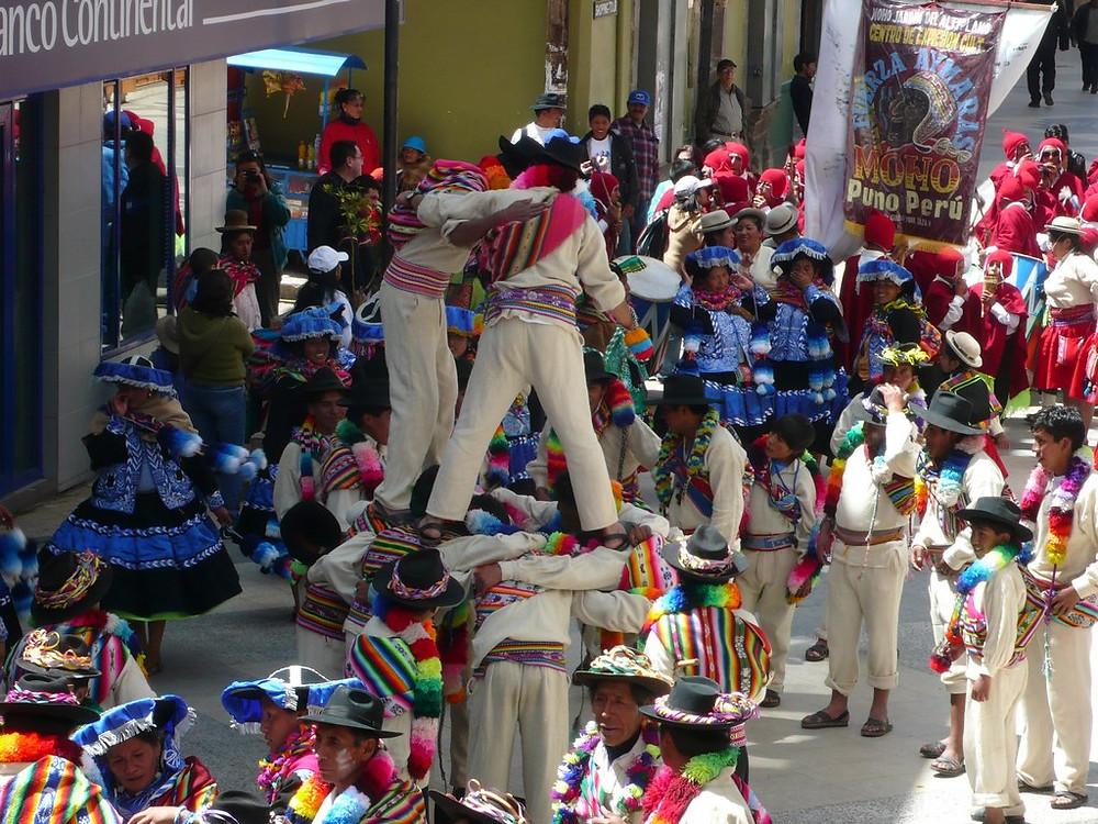Puno Pérou festival