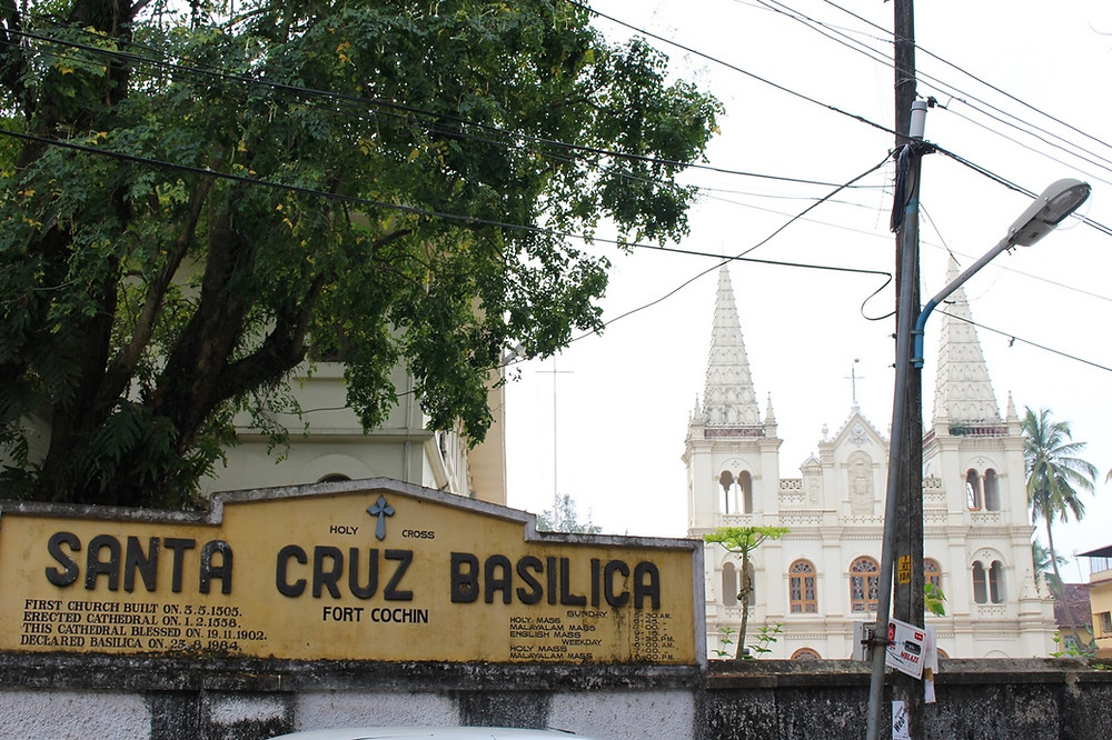 santa cruz Fort Cochin