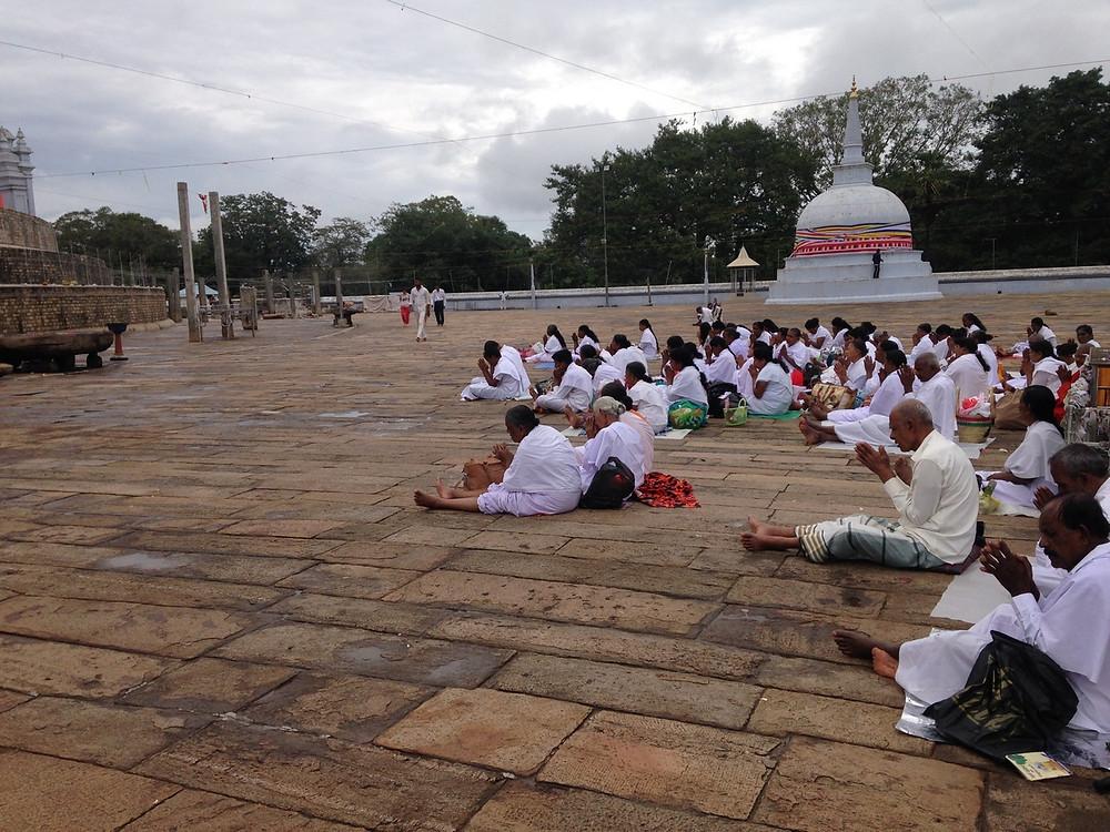 prières Anuradhapura Ruwanwelisaya
