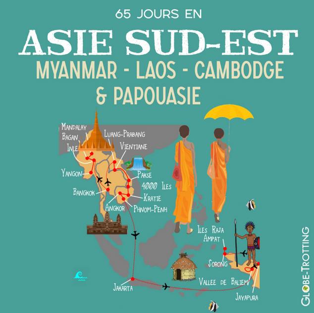 2 mois en Asie du Sud-Est