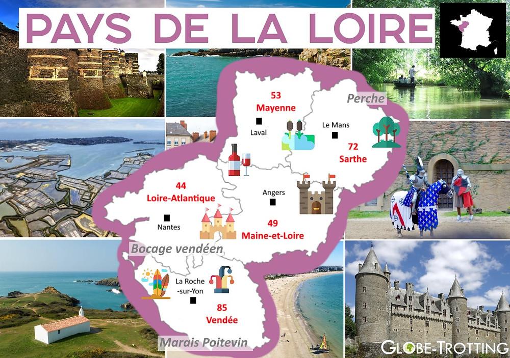 Où partir France Pays de la Loire
