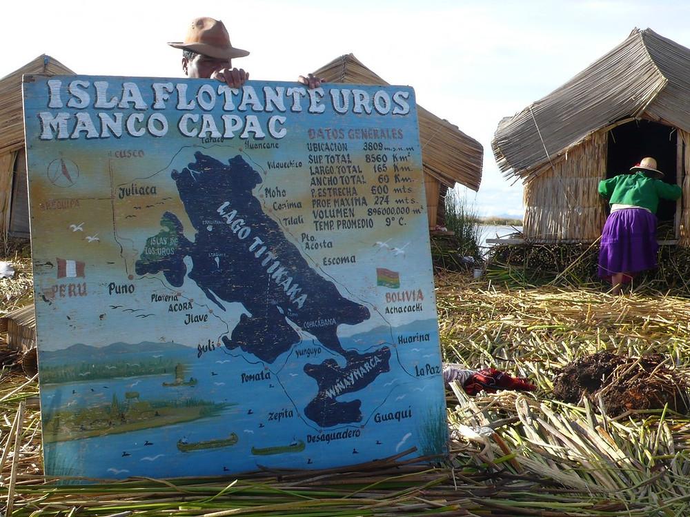 Puno Pérou - Iles Uros pour touristes