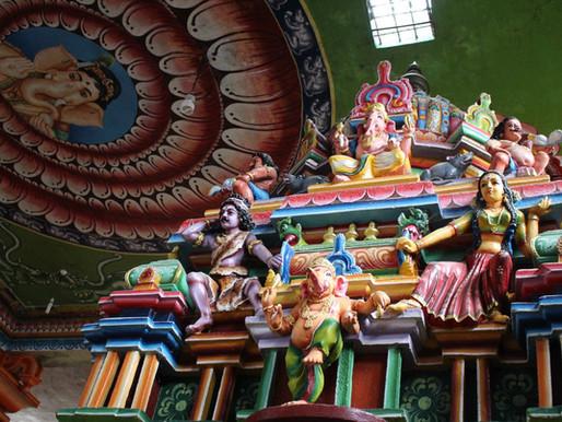 Le Sri Muthumariamman Temple à Matale au Sri Lanka