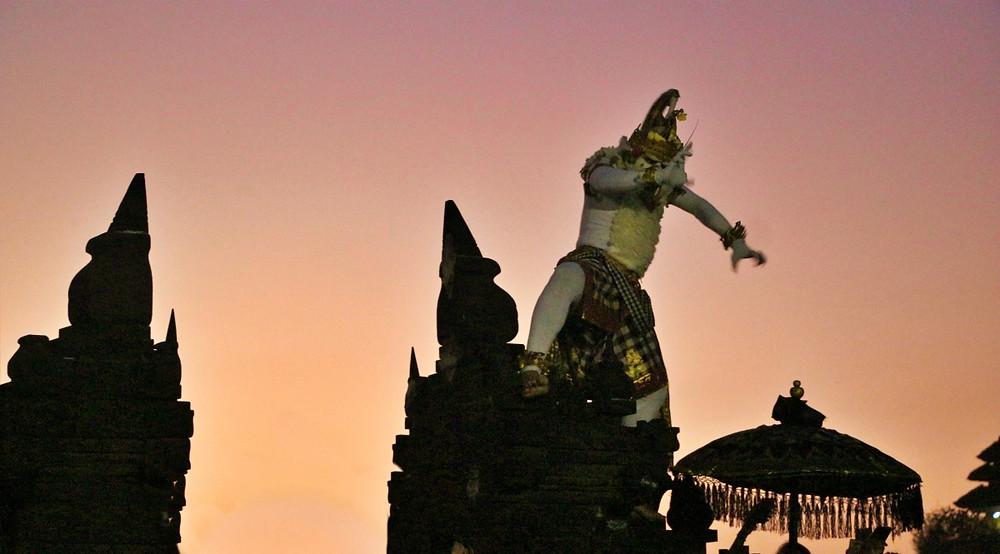 Uluwatu temple danse