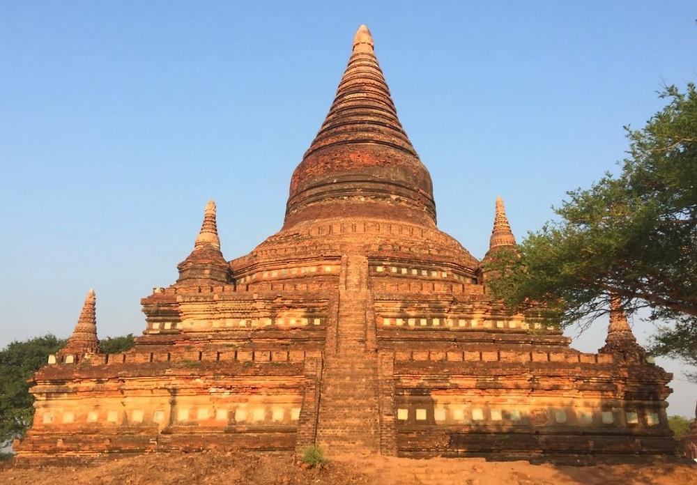 Myanmar Bagan Pagode Bulethi