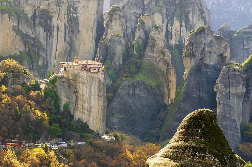 Meteores monastère grèce