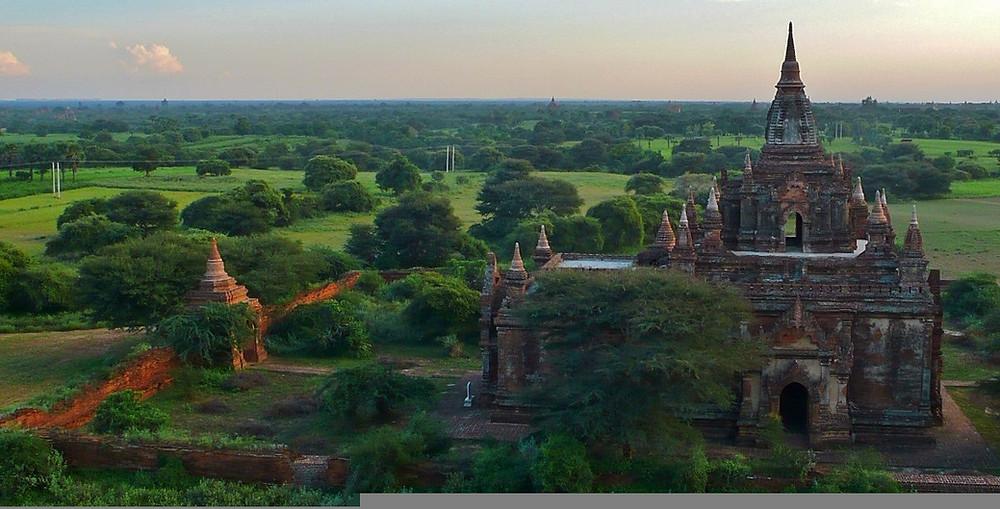 Visite de Bagan blog de voyage