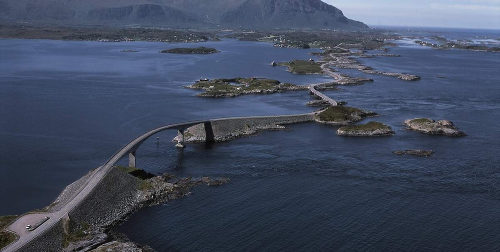 route de l'Atlantique en Norvège