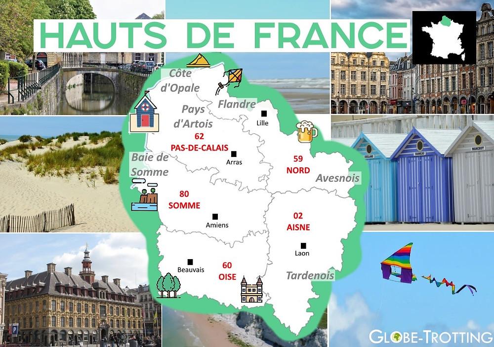 Où partir Hauts-de-France
