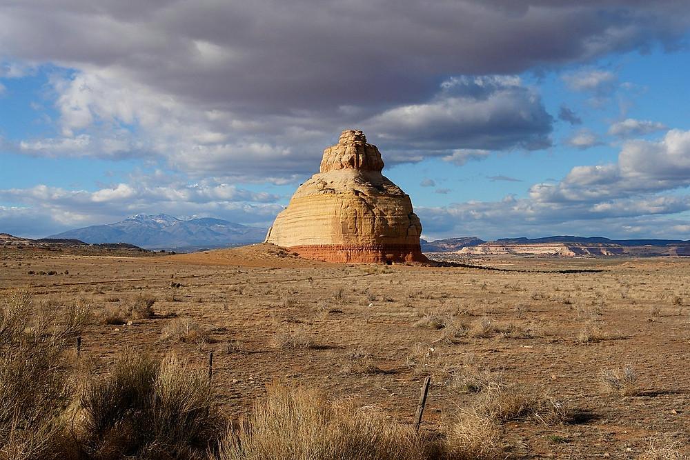Church Rock dans l'Utah aux Etats Unis