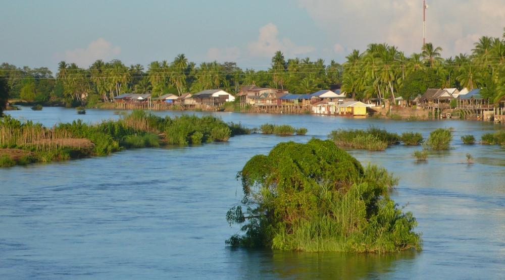 4000 îles paysages Laos