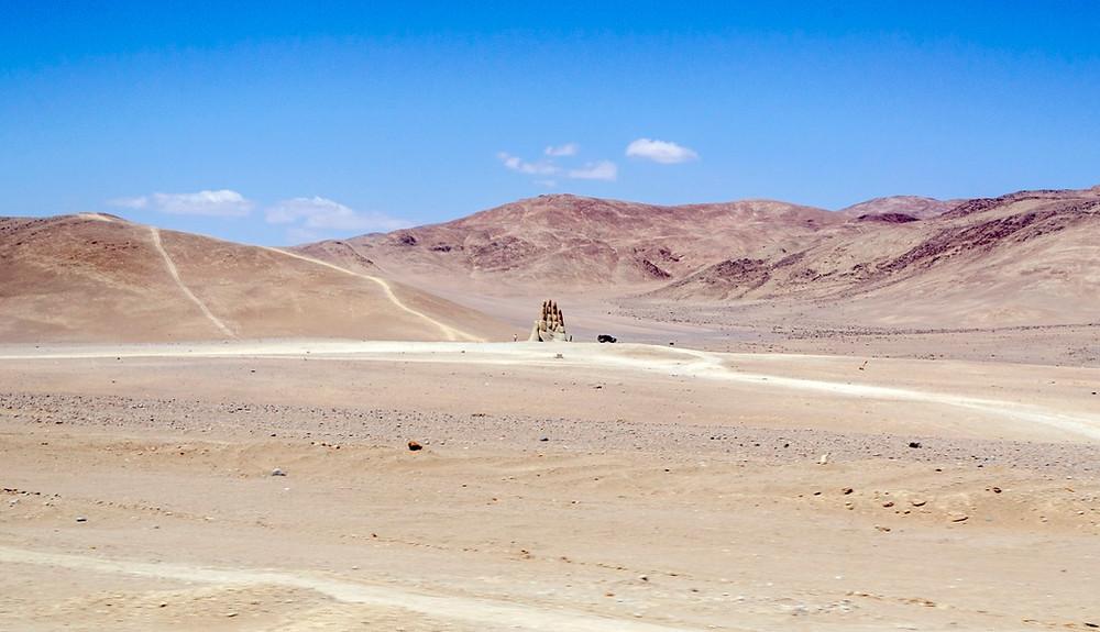 Main du désert d'Atacama