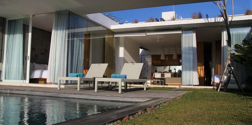piscine villa bali uluwatu bukit