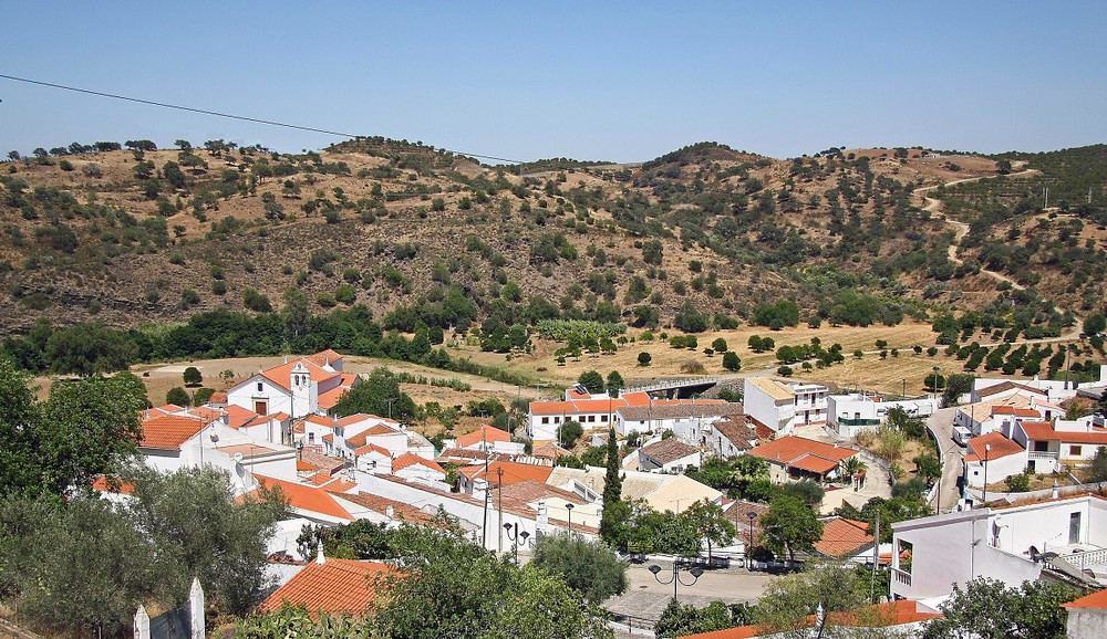 village portugais d'Odeleite