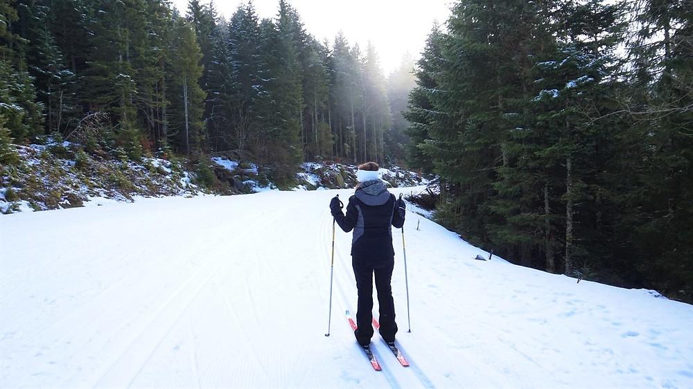 ski de fond biathlon