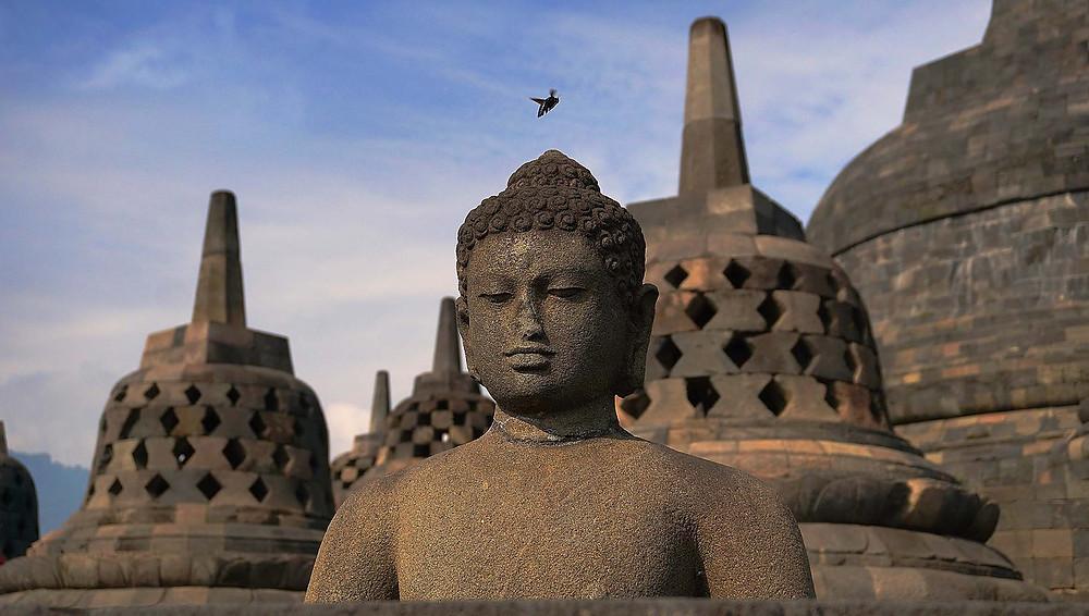 Candi Borobudur Bouddha