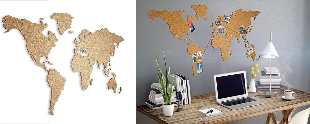 Carte du Monde liege puzzle