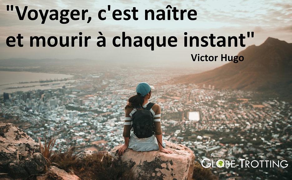 citation de voyage Victor Hugo