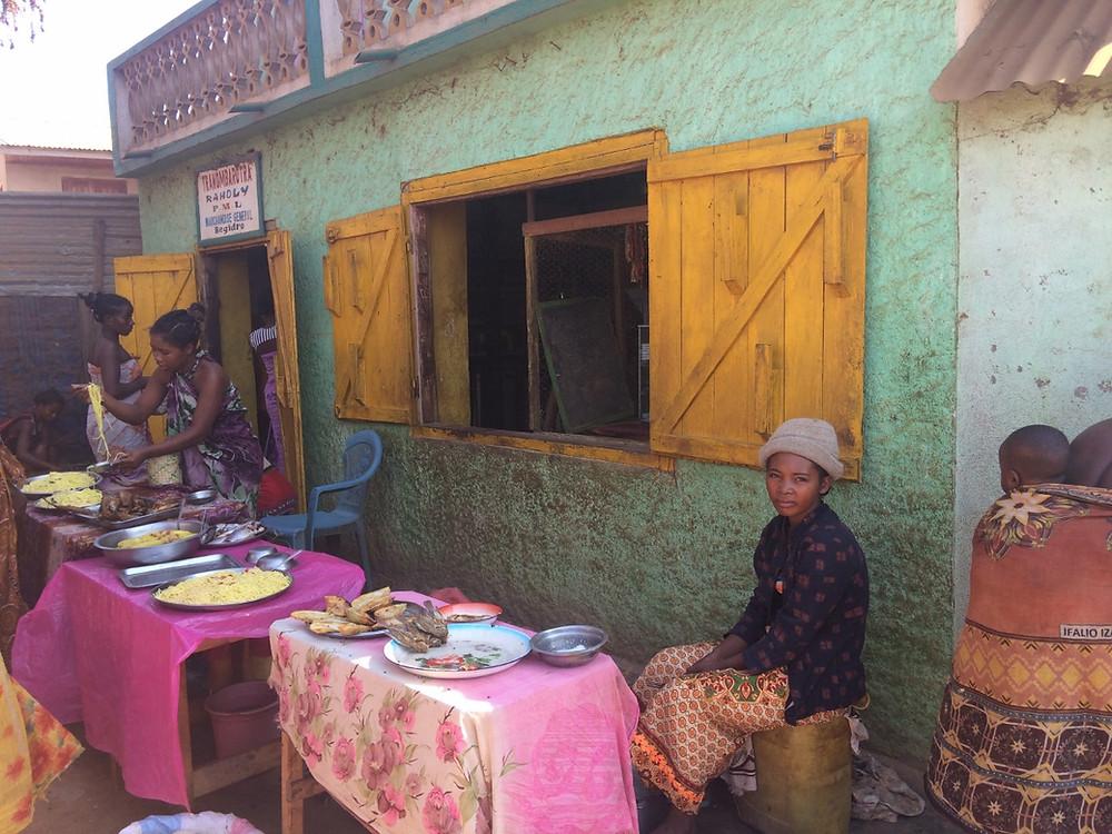 village Tsiribihina Madagascar