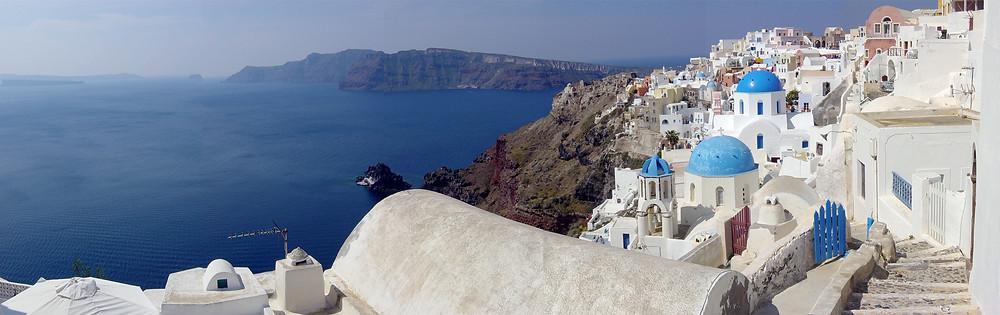 santorin grèce voyage