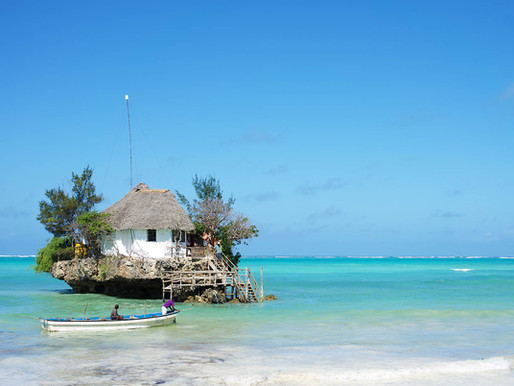 Le Rock Restaurant de Zanzibar en Tanzanie