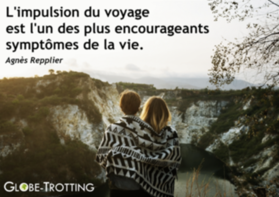CITATION VOYAGE AGNES REPPLIER