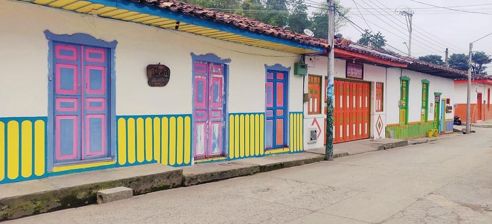 Façades Salento en Colombie