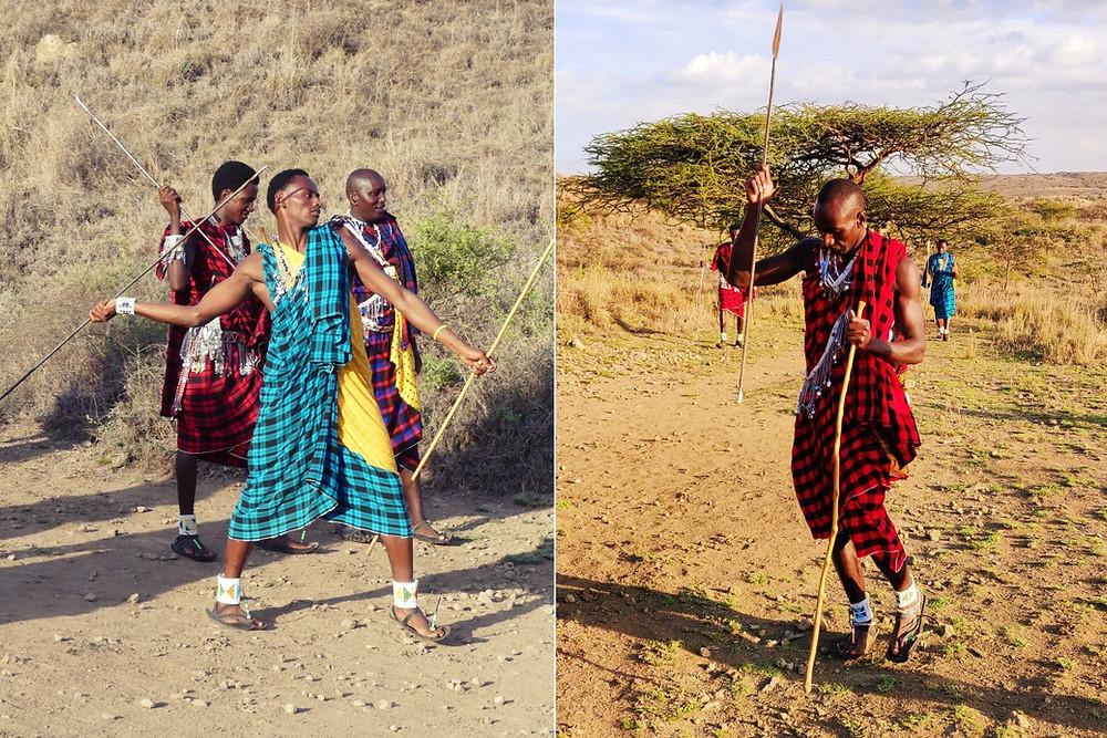 lancer de lance Maasaï