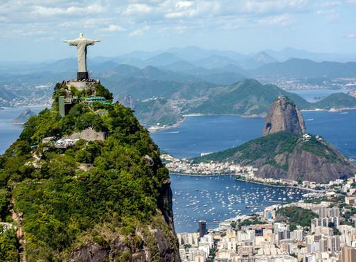 Le Christ Rédempteur du Corcovado au Brésil