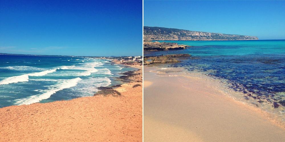 Plages de Formentera