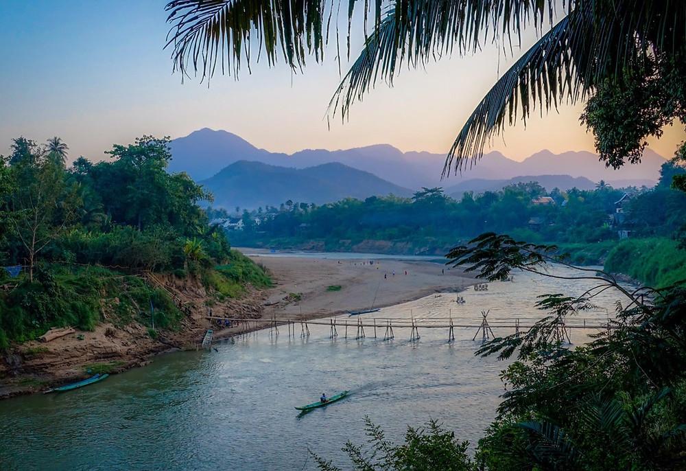 Luang Praband vue rivière