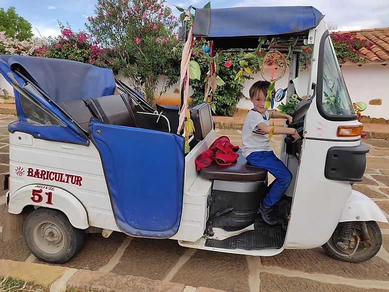 Tuktuk Colombien