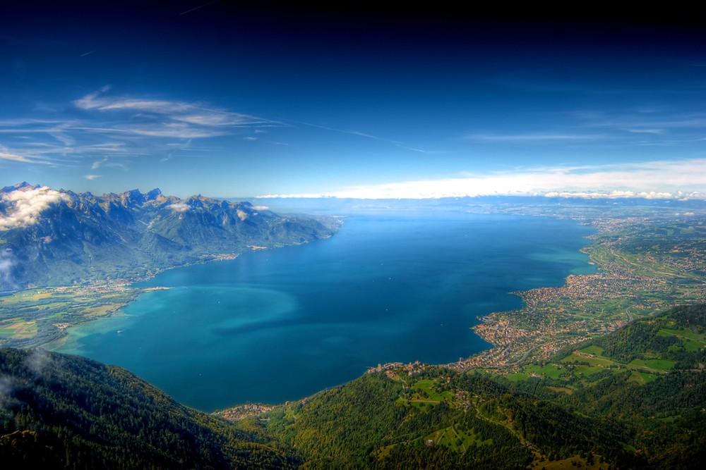 Lac Léman en Suisse et en France