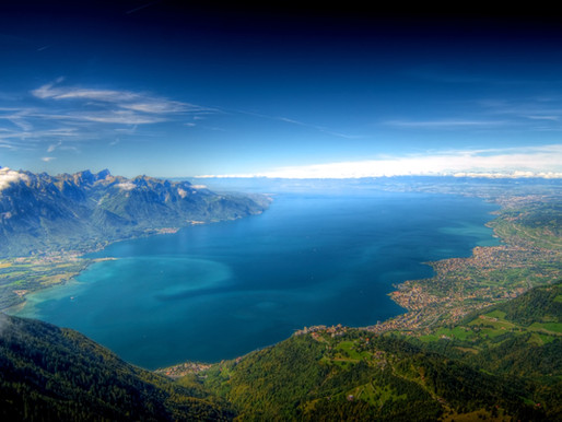 Le Lac Léman en Suisse et en France