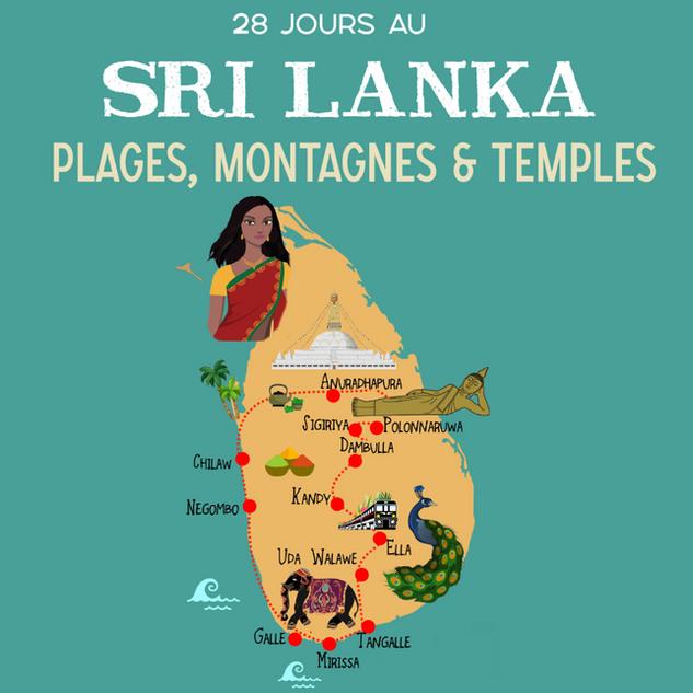 1 mois au Sri Lanka