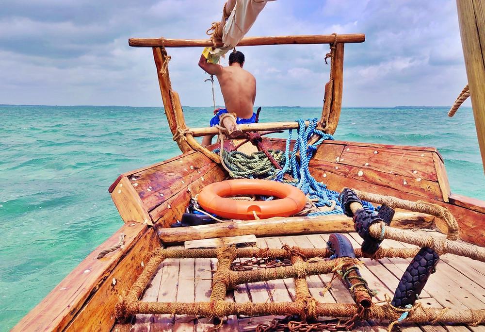 Safari Blue à Zanzibar