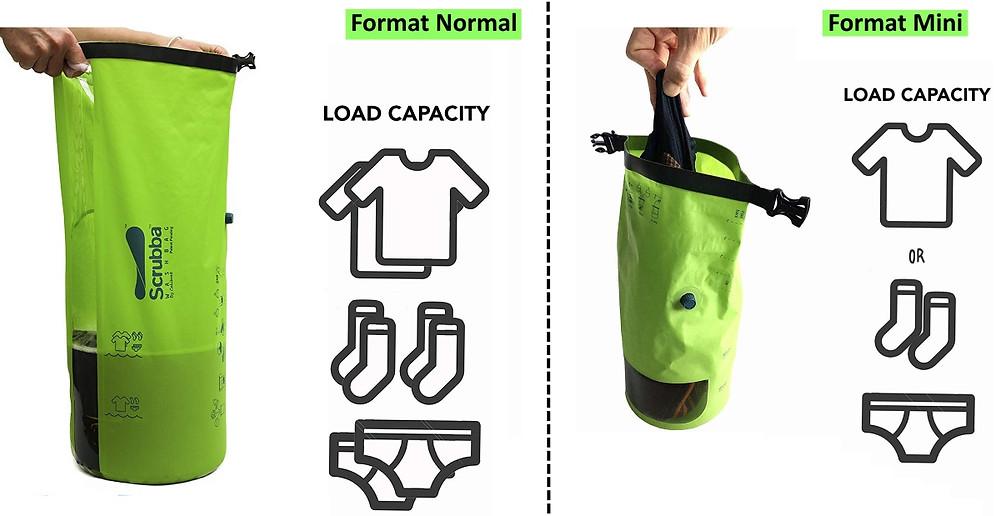 Machine sac à laver de voyage