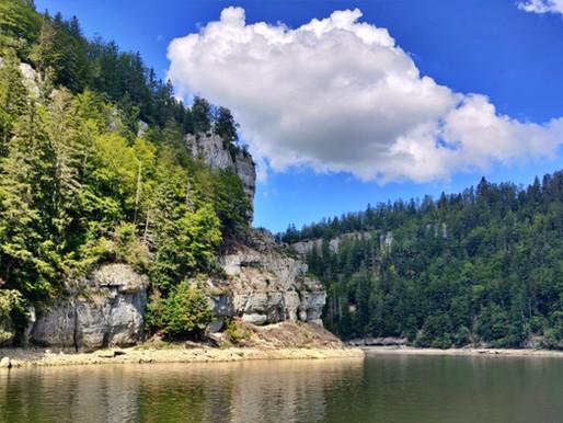 Le Saut du Doubs et les gorges du Doubs en France et en Suisse
