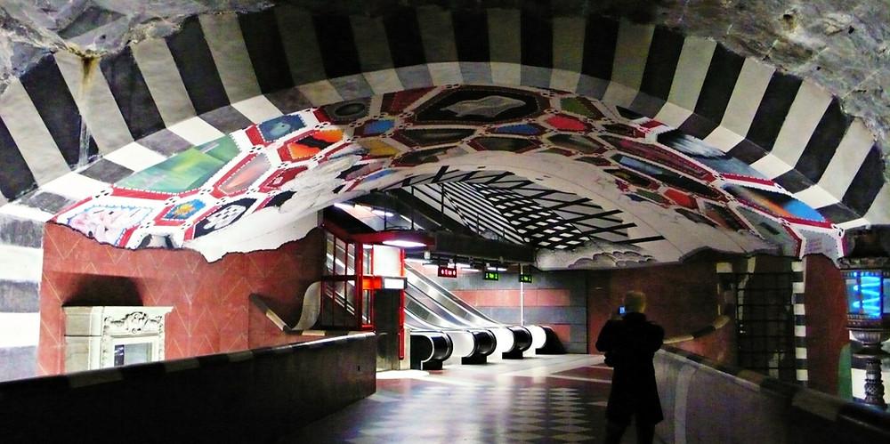 3 jours stockholm métro
