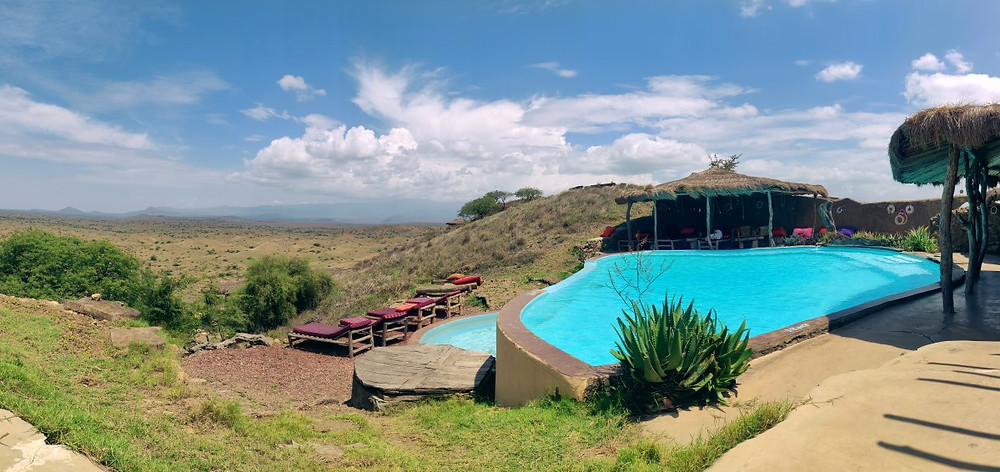 piscine lodge maasai