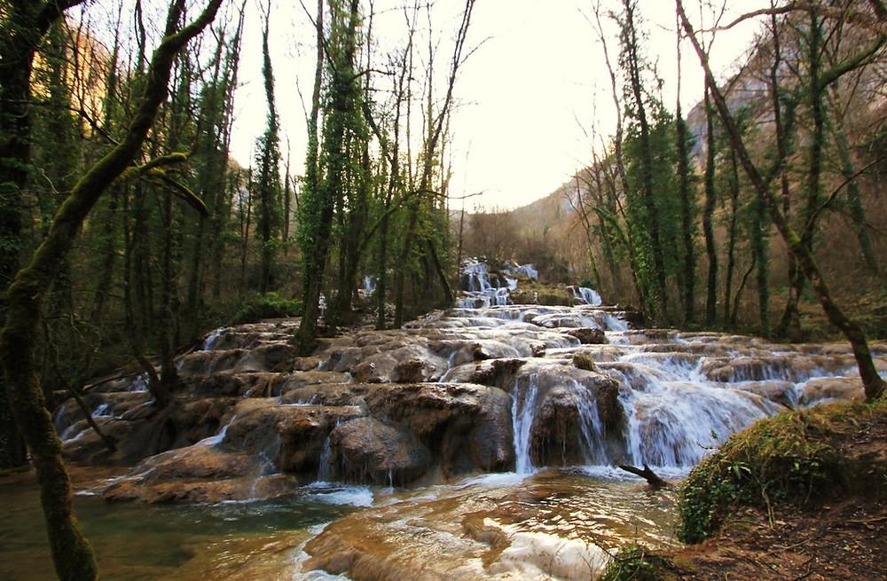 cascade des Tufs du Jura