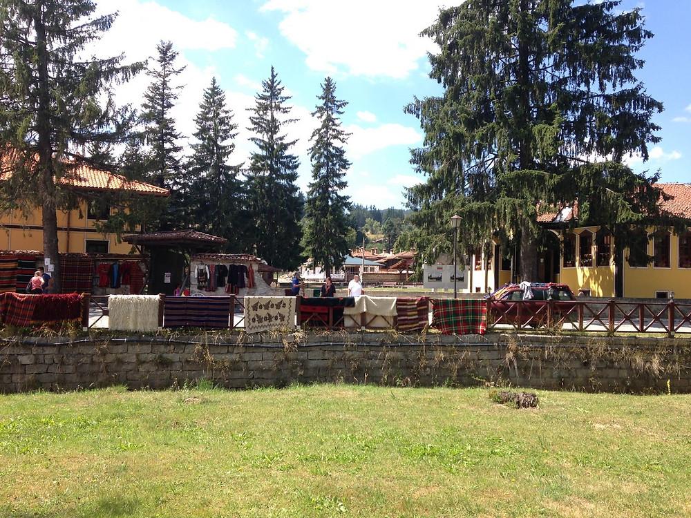village Koprivchtitsa en Bulgarie