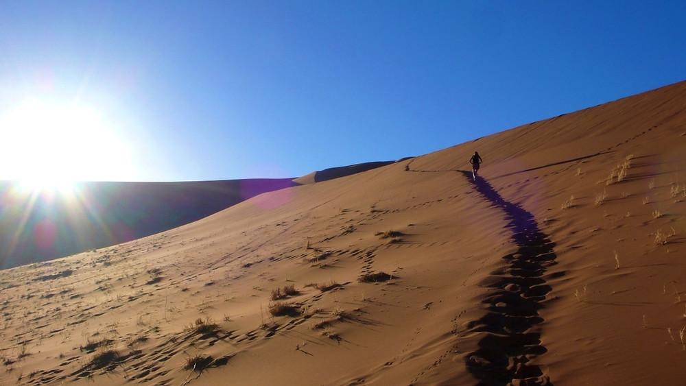 montée dune de sossusvlei