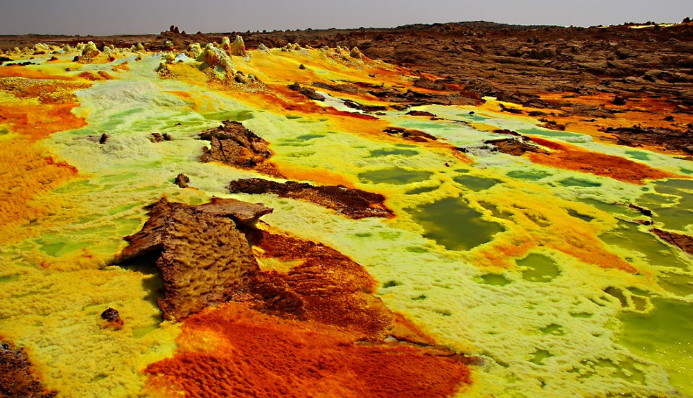 Dallol ethiopie photo