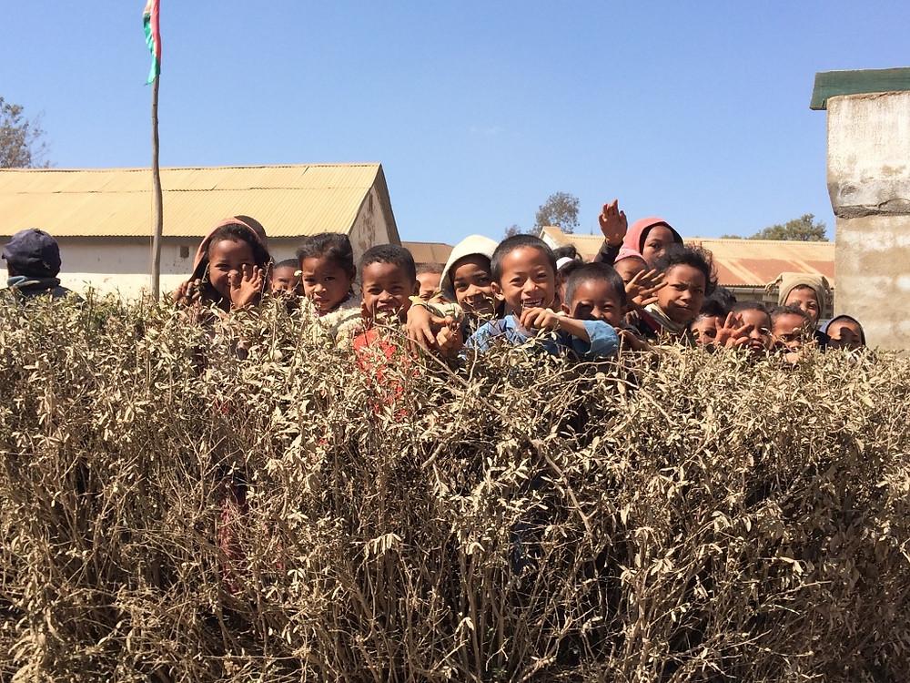 Écoliers Madagascar