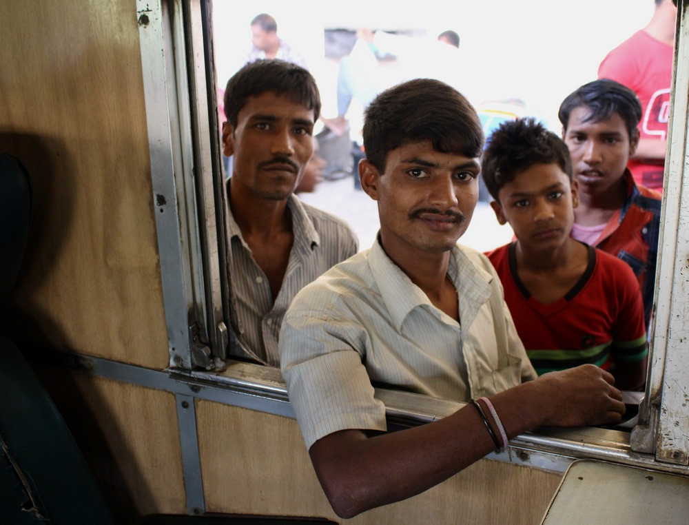 Train Bangladesh pour Srimangal